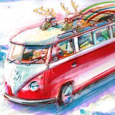 Andrew McGeachy revisits Santa's sleigh