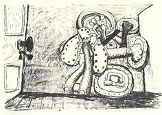 artnet Galleries: Door by Philip Guston from Timothy Taylor Gallery