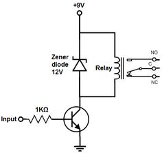 relay driver circuit