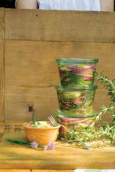 4 Recipes for Quick Pickles: Rosemary