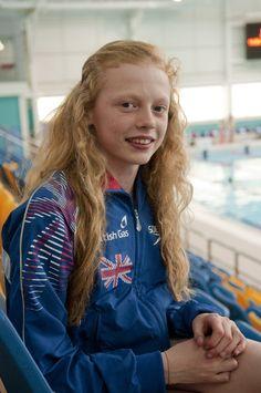 Georgia Coates - Swimming.