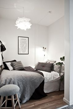 Monochrome and minimalistic inspired Bedroom