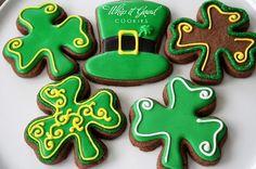 St Patrick's cookies