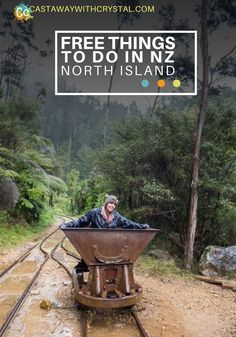 Free things to do in New Zealand; North Island - Castaway with Crystal: