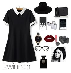 """""""for ma bae"""" by kwinnerr on Polyvore featuring Yves Saint Laurent, Lime Crime, rag & bone and Olivia Burton"""