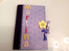 Cuaderno para Martina.
