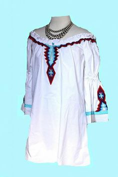 Brands :: Vintage Collection :: VINTAGE COLLECTION SUMMER 2014 EMBROIDERED WHITE TUNIC! - Native American Jewelry|Ladies Western Wear|Double...http://www.cowgirlkim.com/cowgirl-brands/vintage-collection/vintage-collection-summer-2014-embroidered-white-tunic.html