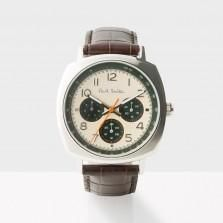 7d5597e172c The Paul Smith men s watch collection includes classic timepieces and  modern chronograph wristwatches with leather and bracelet straps on offer.