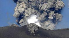 Japan's Mount Shinmoe