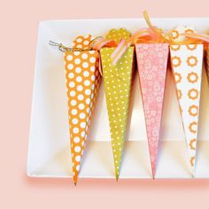 Emily Burnette's Recipe for Cute: A fresh idea for Easter... Carrot candy box
