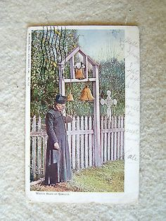 MISSION BELLS AT CAMULOS. - CALIFORNIA - 1906 POSTMARK POST CARD