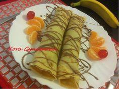 Kora Cynamonu : Naleśniki z bananami