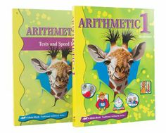 Aiden Abeka Math Grade 1 Homeschool Child Arithmetic Kit   -