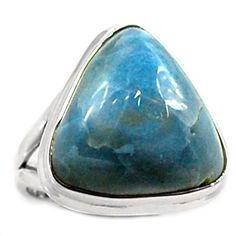 Owyhee Opal 925 Sterling Silver Ring Jewelry s.7 OYOR24 - JJDesignerJewelry