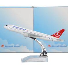 Turkish Airlines BOEING B777 Airplane Model (1:400)