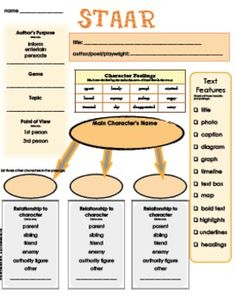 STAAR Fill-In Practice NEW and UPDATED just in time to get your students ready for standardized testing!