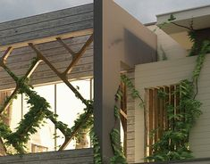 Duplex House on Behance Modern House Facades, Modern Exterior House Designs, Modern Architecture House, Modern House Design, Exterior Design, Front Elevation Designs, House Elevation, Bungalow House Design, Duplex House