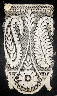 Quaker Lace sample.  Kensington, Philadelphia, PA.