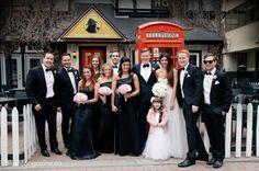 Shyloe & Eric's Old Timer Wedding: Bridal Party