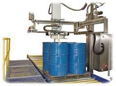 Drum filling machine @ http://www.conweighsystems.com/