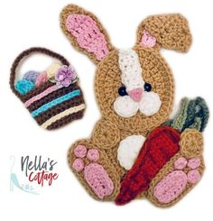 ALL PATTERNS 30% OFF!!! Excited to share the latest addition to my #etsy shop: Crochet Pattern - INSTANT PDF DOWNLOAD - Crochet Easter Bunny - Easter - Easter Bunny Appliqué - Crochet Applique - Bunny Applique - Rabbit https://etsy.me/2I3XPWu #supplies #crochet