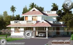 Modern Unique House Designs & Two Storied House Plans 100+ Designs
