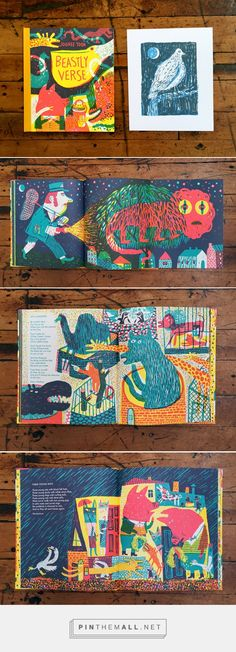 """Night Pigeon"" and ""Beastly Verse"" by JooHee Yoon... - a grouped images picture - Pin Them All"