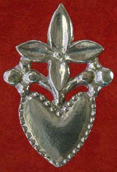 Flowering heart lovers' token - 14th-15th century
