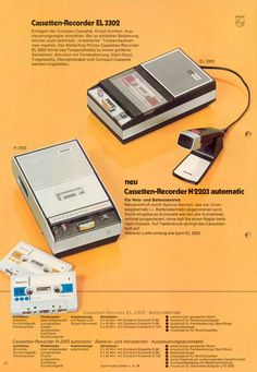 Philips Cassette Recorders - www.dtpss.com