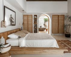 Chic Tropical Open-Plan Living Villa in Bali, Chic Tropical Open-Plan Living Villa in Bali. Bali Bedroom, Home Bedroom, Bedroom Decor, Bedroom Fun, Master Bedroom, Home Design, Home Interior Design, Design Ideas, Design Room