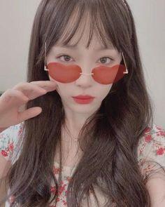 Results for Sulli Go Hara, Mirrored Sunglasses, Sunglasses Women, Kpop Gifs, Choi Jin, Love U Forever, Girl Inspiration, Girl Photo Poses