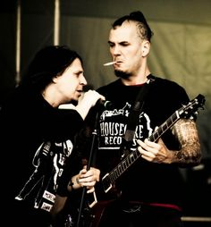 Mike Williams and Phil Anselmo