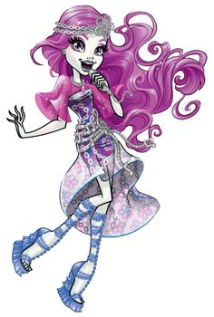 Ari Hauntington. Welcome to Monster High. NEW Profile art
