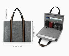 This item is unavailable : Multi-function Laptop Bag Felt Macbook Air Retina Pro Macbook Sleeve Macbook Case Fashion Special Leather Briefcase Portfolio Macbook Air, Macbook Sleeve, Pochette Diy, Bag Sewing, Laptop Screen Repair, Sacs Design, Laptop Storage, Laptops For Sale, Leather Briefcase