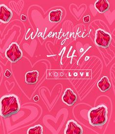 Wpisz kod: LOVE w swoim koszyku i zrób zakupy pomniejszone o rabat -14% Zobacz, co znalazło się w walentynkowej promocji. Wejdź też na bloga i zainspiruj się naszymi darmowymi tutorialami. Skorzystaj z okazji z tylko do poniedziałku!