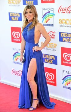 Panagiota Petridou attends the Radio Regenbogen Award 2017 at Europapark on April 7, 2017 in Rust, Germany.