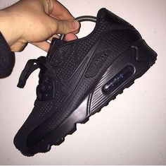 huge selection of 290c5 021f0 Nike Air Max 90 Black Black