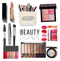 """Untitled #112"" by pccd888 ❤ liked on Polyvore featuring beauty, Chanel, Sephora Collection, Givenchy, NARS Cosmetics and beautydupes"
