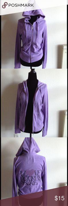 Victoria Secret supermodel essential hoodie Purple VS supermodel essential hoodie, size small Victoria's Secret Jackets & Coats