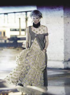 Mia Wasikowska Covers Vogue Australia July 2016. Lensed By Nicole Bentley