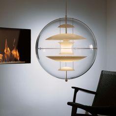 Luminária Pendente Vp Globe   Arkpad