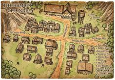 village fantasy map rpg maps town medieval hamlet castle lindley dnd dungeon troll google ak0 dungeons dragons battle fire tabletop