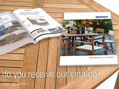 Do you receive our catalog? Click through to Sign up!