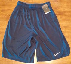 Nike Dri Fit Navy Shorts Mens NWT 3 pockets Size Small #Nike #Shorts