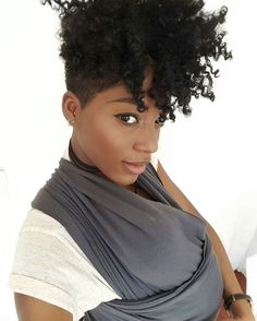 Love her tapered fro @abigail.martina - Black Hair Information