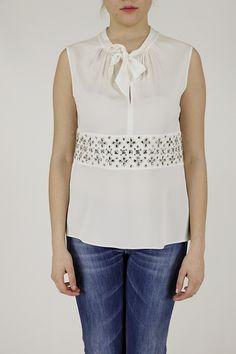 Armani collezione donna NMH60R NM332 1010 P/E14 donna maglia top