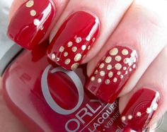 + de 180 UÑAS ROJAS DECORADAS | UÑAS DECORADAS - NAIL ART