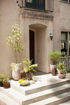 Erica Tanov's Berkley entryway