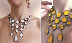 Gitte Nygaard - gorgeous enameled jewelry