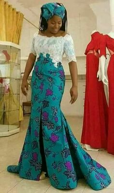 African traditional wear 2019 for women -African traditional Long African Dresses, African Print Dresses, African Fashion Dresses, African Inspired Fashion, African Print Fashion, Africa Fashion, African Attire, African Wear, African Women